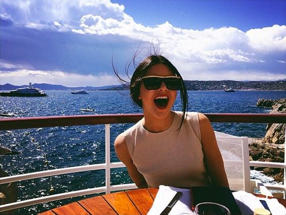 Kendall Jenner, Cannes, Instagram