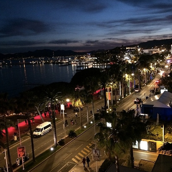 Cannes, Instagram
