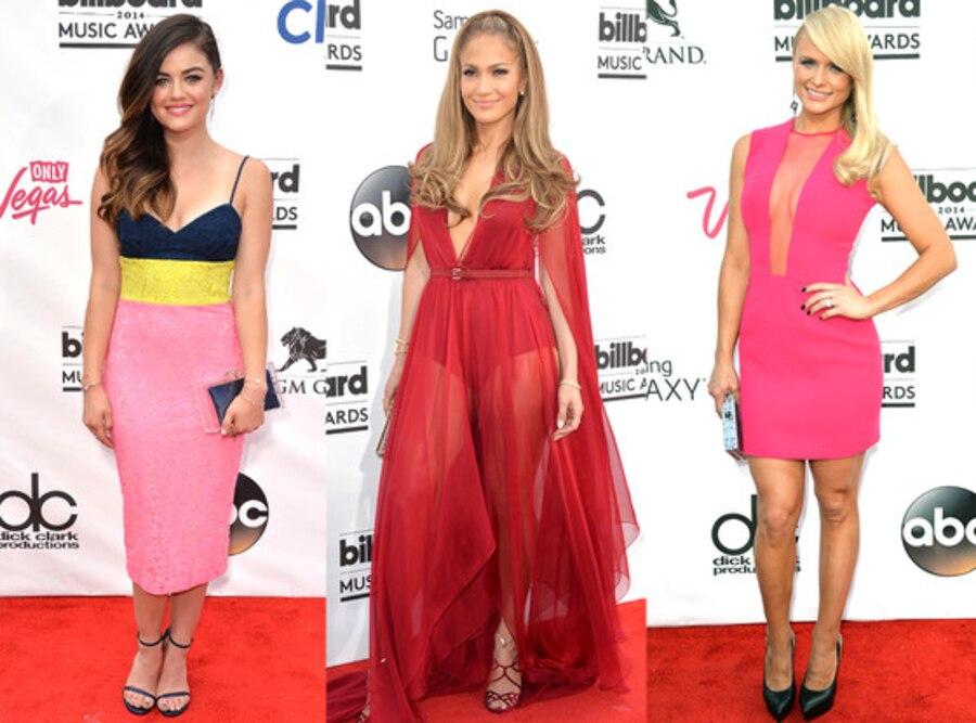 Jennifer Lopez, Lucy Hale, Miranda Lambert, Best Dressed
