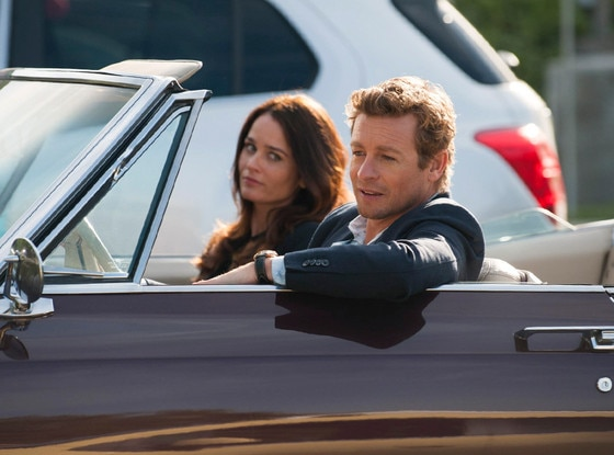 Simon Baker, Robin Tunney, The Mentalist
