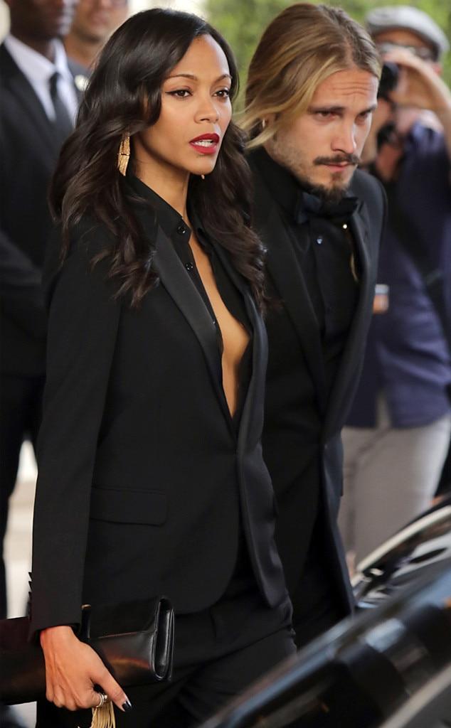 Zoe Saldana, Marco Perego