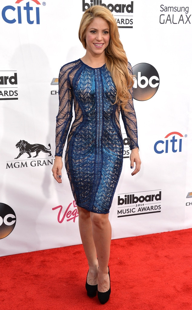 Shakira, Billboard Music Awards