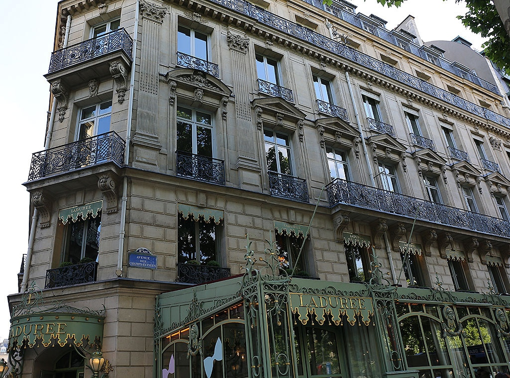 Kim Kardashian, Kanye West, Kimye's Favorite Places in Paris
