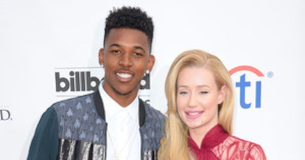 Iggy azalea and nick young make red carpet debut as a - Fotos de parejas en blanco y negro ...