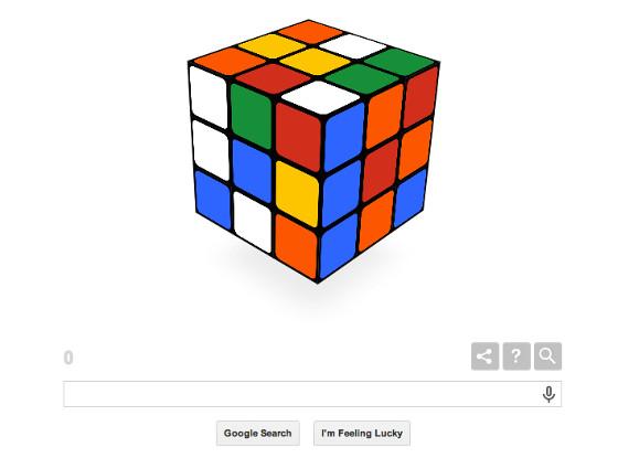 Google, Rubik's Cube