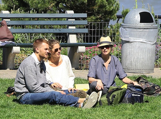 Tom Brady, Gisele Bundchen, Bridget Moynahan