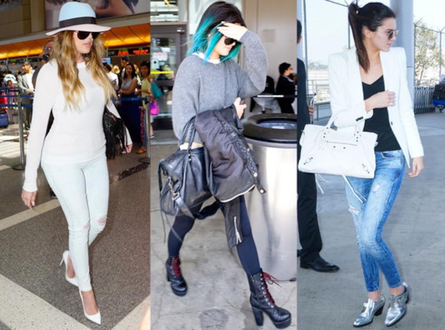 Khloe Kardashian, Kylie Jenner, Kendall Jenner
