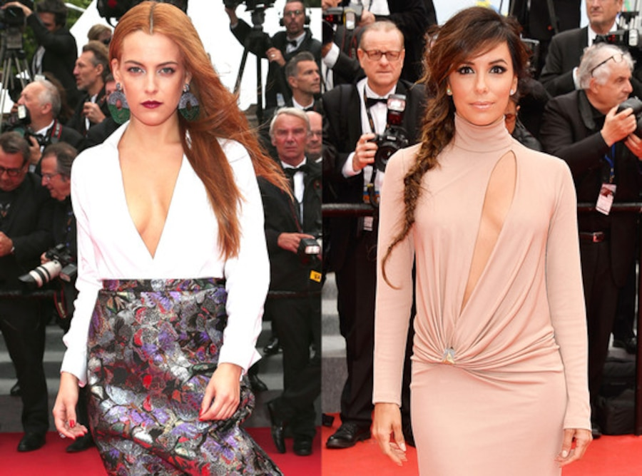 Riley Keough, Eva Longoria, Cannes Film Festival