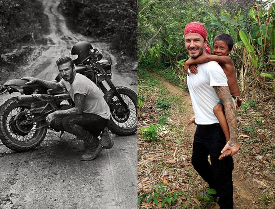 David Beckham Into The Unknown