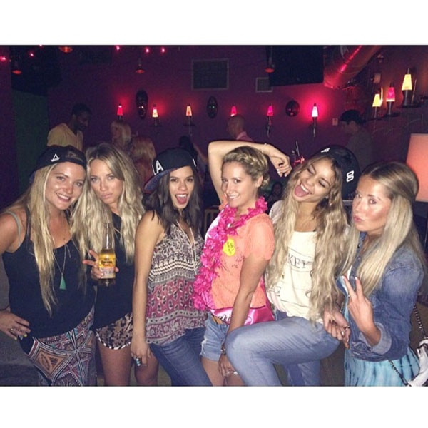Ashley Tisdale, Bachelorette Parties
