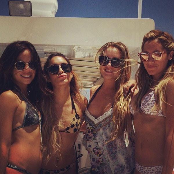 Ashley Tisdale, Bachelorette Party, Instagram
