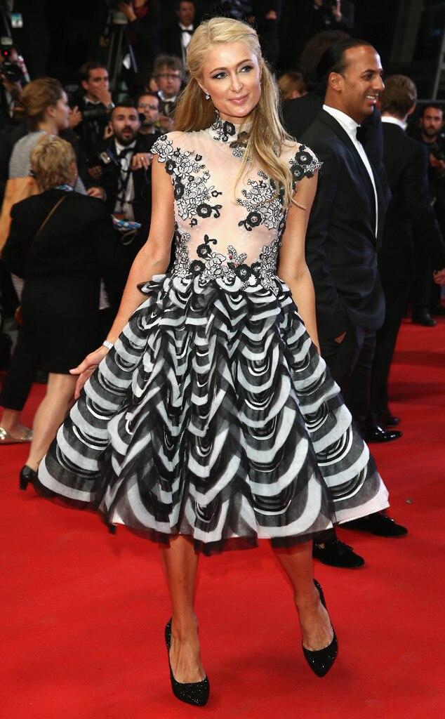 Paris Hilton, Cannes