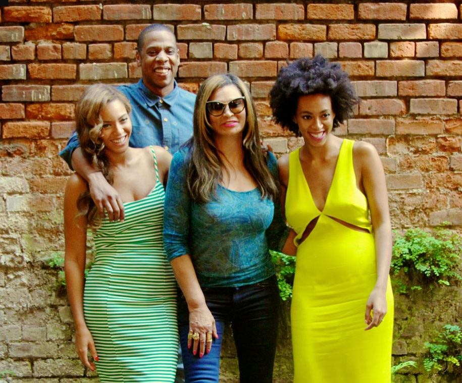Beyonce, Jay-Z, Solange Knowles, Tina