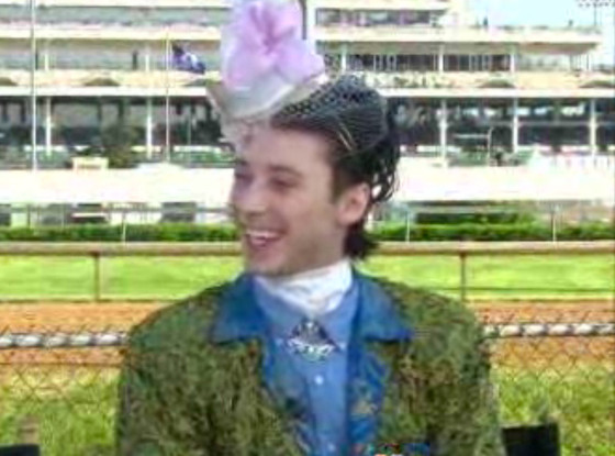 Johnny Weir, Today Show, Kentucky Derby
