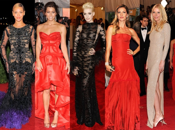 Best at the Met: Beyonce, Jessica Biel, Anne Hathaway, Gisele Bundchen, Gwyneth Paltrow
