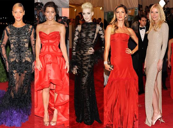 Best at the Met: Beyonce, Jessica Biel, Anne Hathaway, Gisele Bundchen, Gwyneth Paltrow