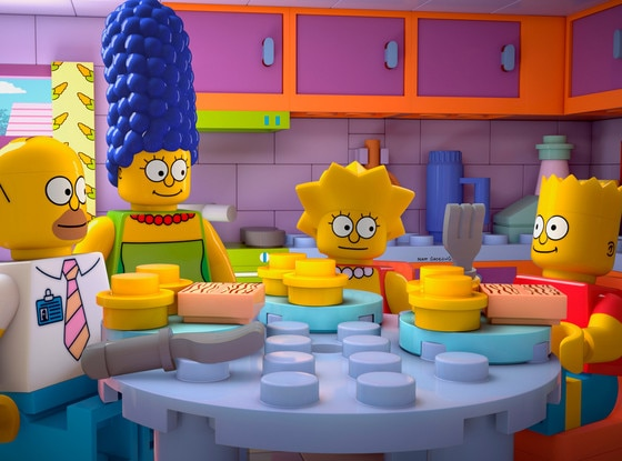 The Simpsons, Lego