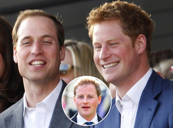 Prince William, Prince Harry, Guy Pelly