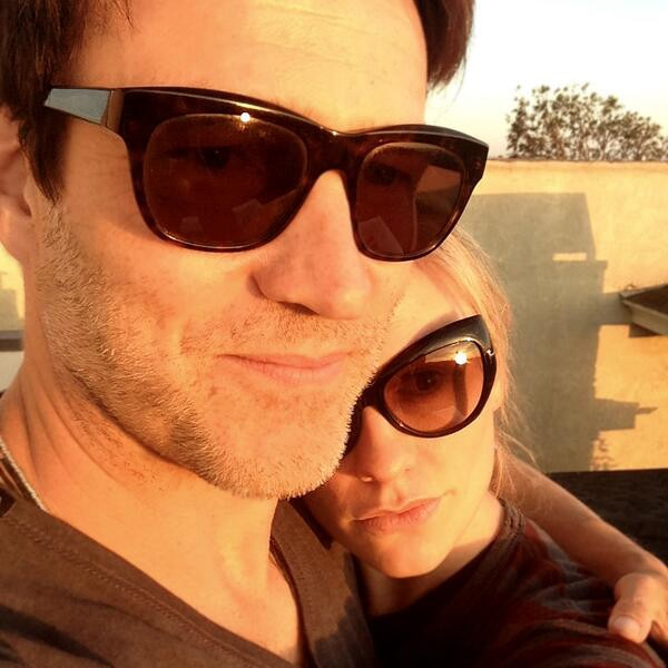 Anna Paquin, Stephen Moyer, Instagram