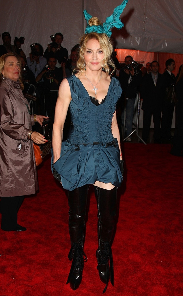 madonna from the worst met gala looks of all time