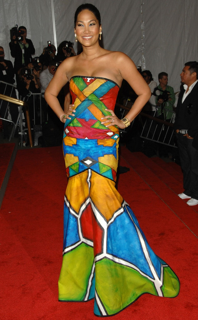 Kimora Lee Simmons, MET Gala, 2008