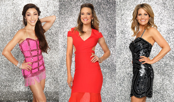 DWTS, Dancing with the Stars, Meryl Davis, Amy Purdy, Candace Cameron Bure