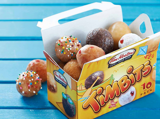 Chain store donuts, Tim Horton's Timbits