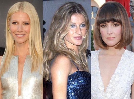 Gwyneth Paltrow, Rose Byrne, Gisele Bundchen, Harry Josh