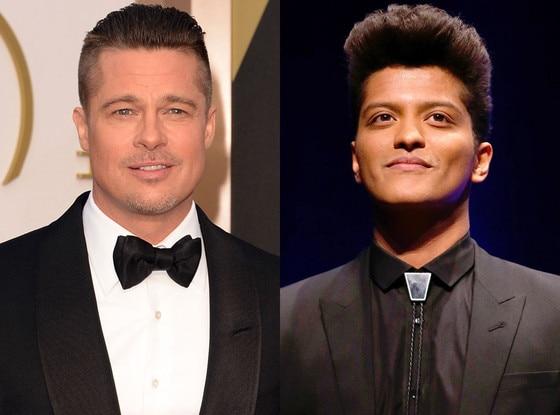 Bruno Mars, Brad Pitt