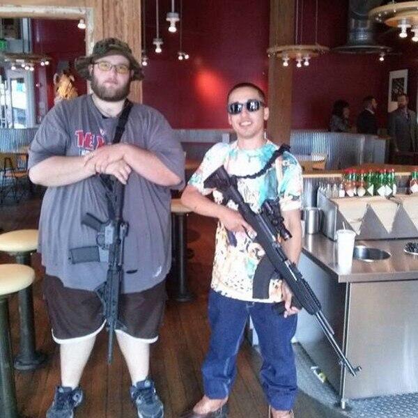 Chipotle, Gun, Twitter