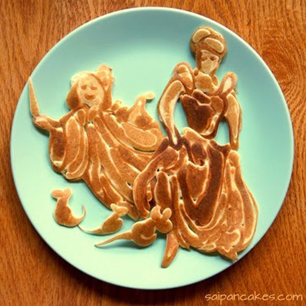 Pancake Art : You Have to See the Incredible Pancake Art This Father ...