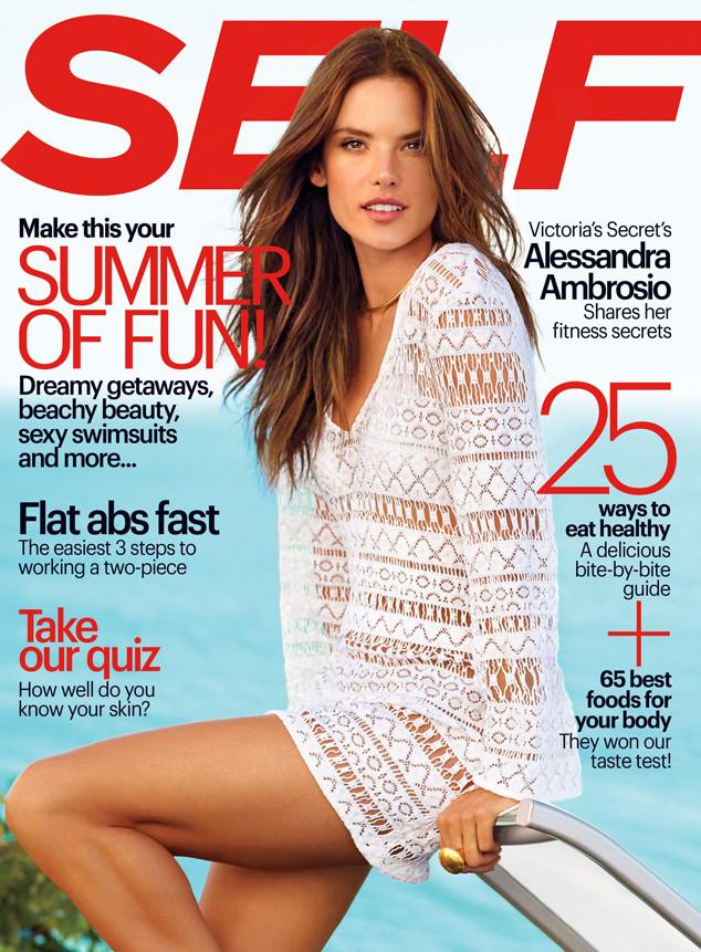 Alessandra Ambrosio, Self Magazine