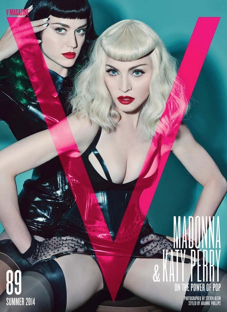 Katy Perry, Madonna, V Magazine