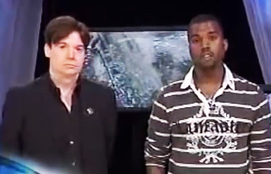 Mike Myers, Kanye West