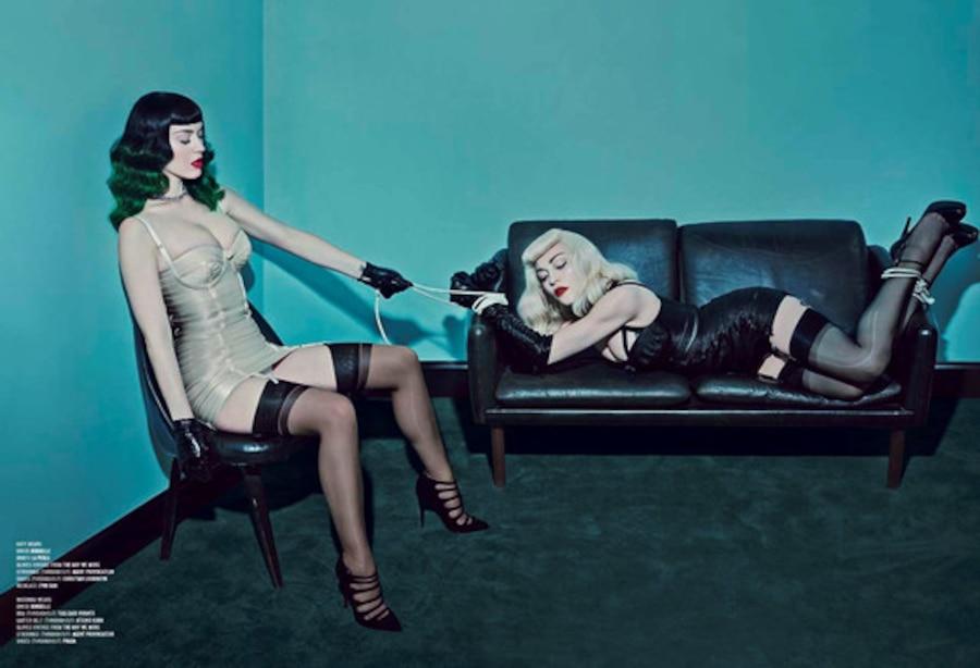 Katy Perry, Madonna, V Magazine