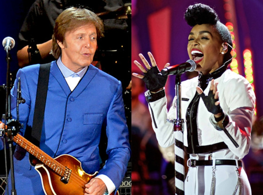 Paul McCartney, Janelle Monae