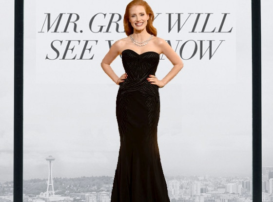 E! Loves Jessica Chastain
