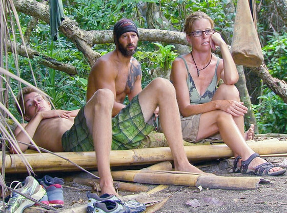 "Survivor, Spencer Bledsoe, Tony Vlachos and Kassandra ""Kass"" McQuillen"