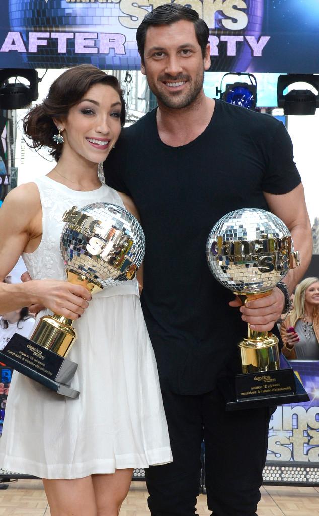 Meryl Davis, Maksim Chmerkovskiy, Dancing with the Stars