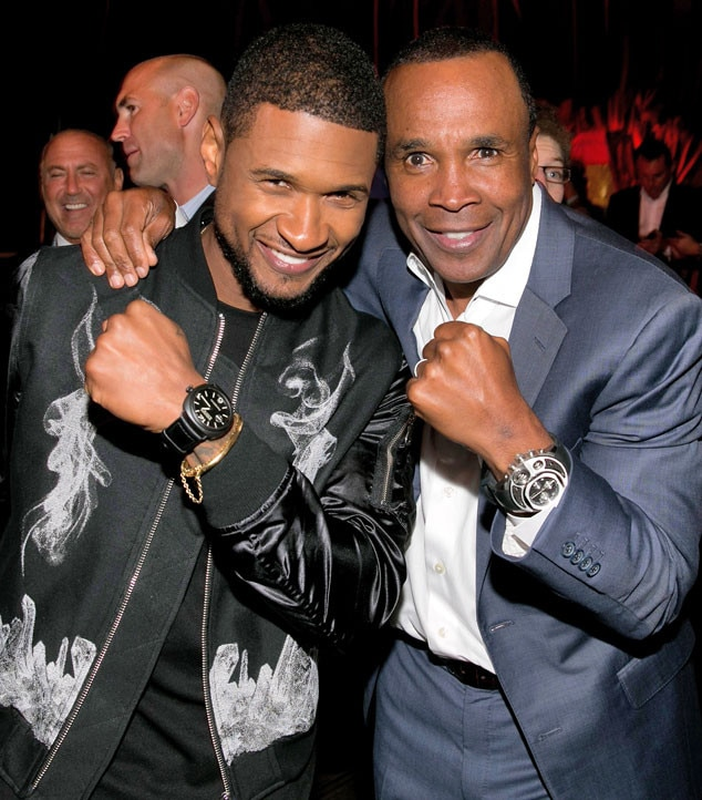 Usher, Sugar Ray Leonard