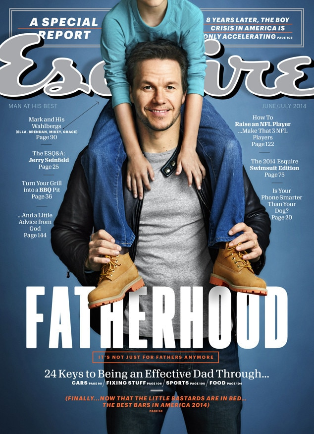 Mark Wahlberg, Esquire Magazine