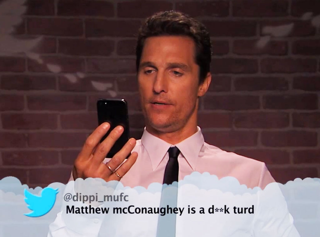 Celebrity Mean Tweets, Jimmy Kimmel Live, VIDEO 1
