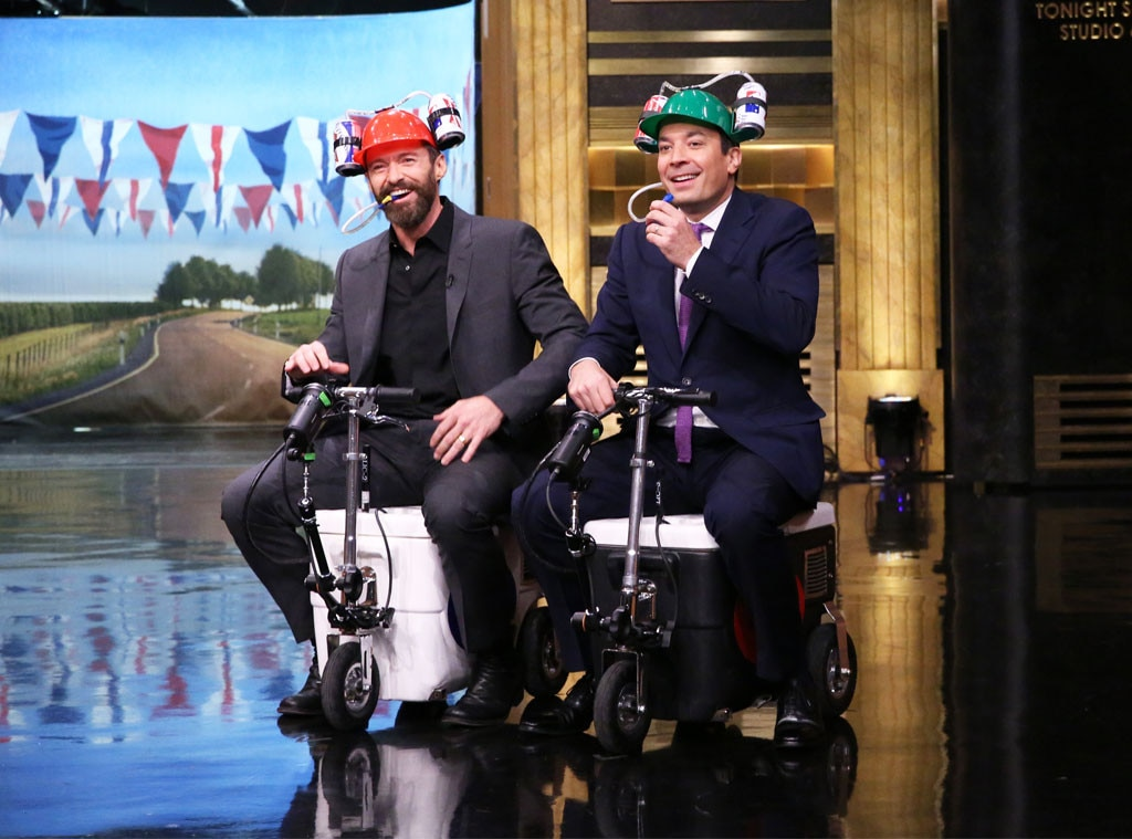 Hugh Jackman, Jimmy Fallon