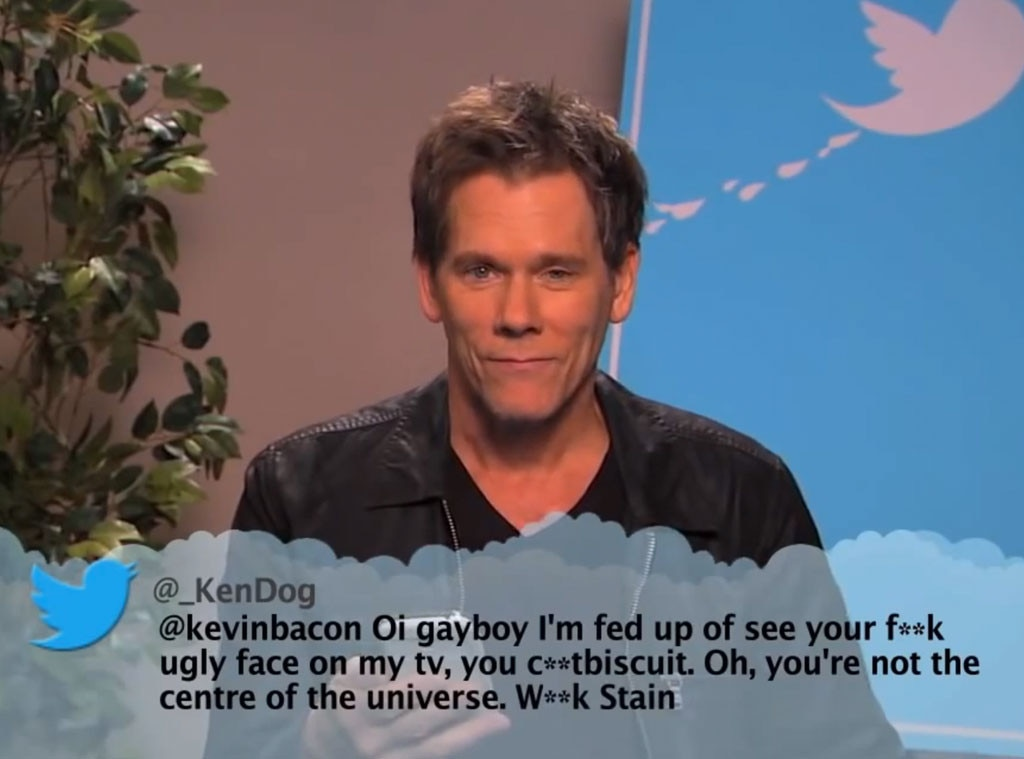 Kevin Bacon from Celebrity Mean Tweets From Jimmy Kimmel ...