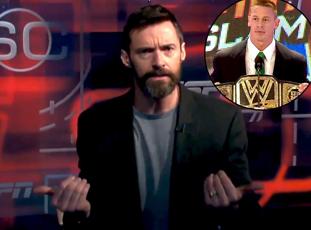 John Cena, Hugh Jackman