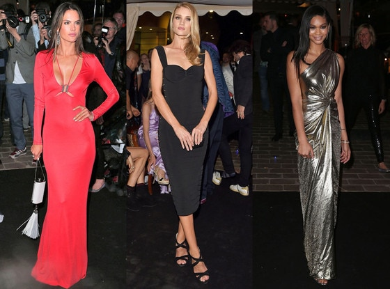 Rosie Huntington-Whiteley, Chanel Iman, Alessandra Ambrosio, Cannes