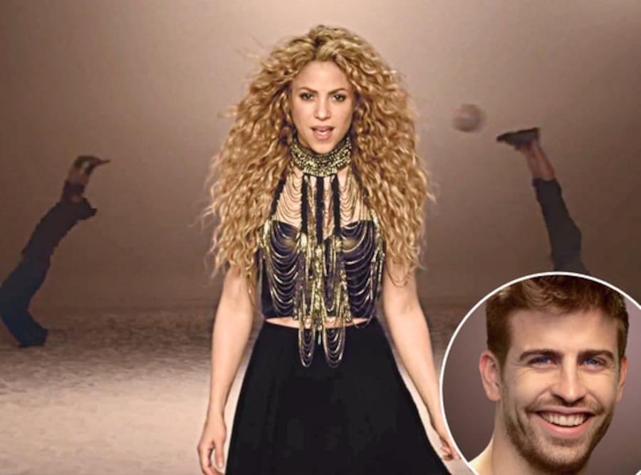 Shakira, Gerard Piqué, La La La Music Video