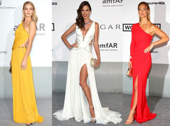 Alessandra Ambrosio, Bar Rafaeli, Rosie Huntington-Whiteley, Cannes