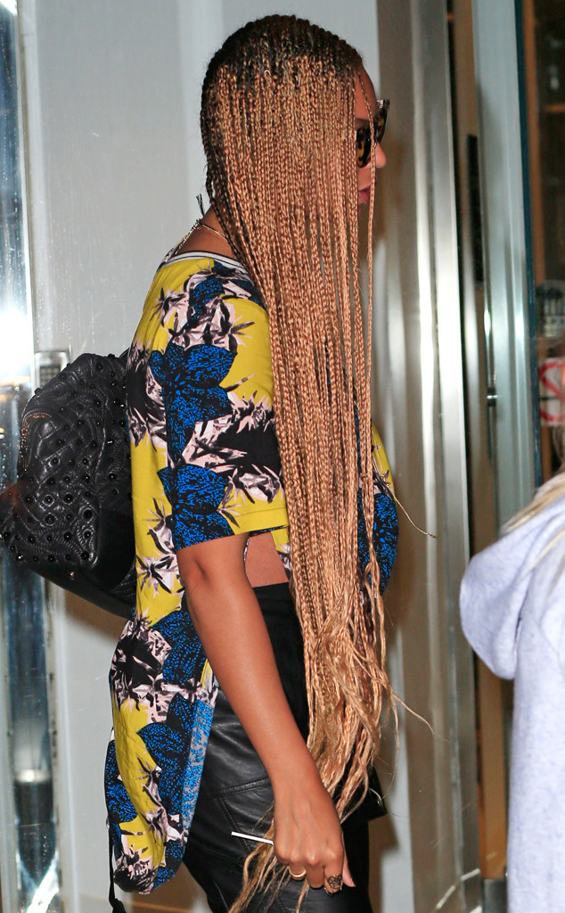Beyonc 233 Goes Back To Extra Long Braids See Her New