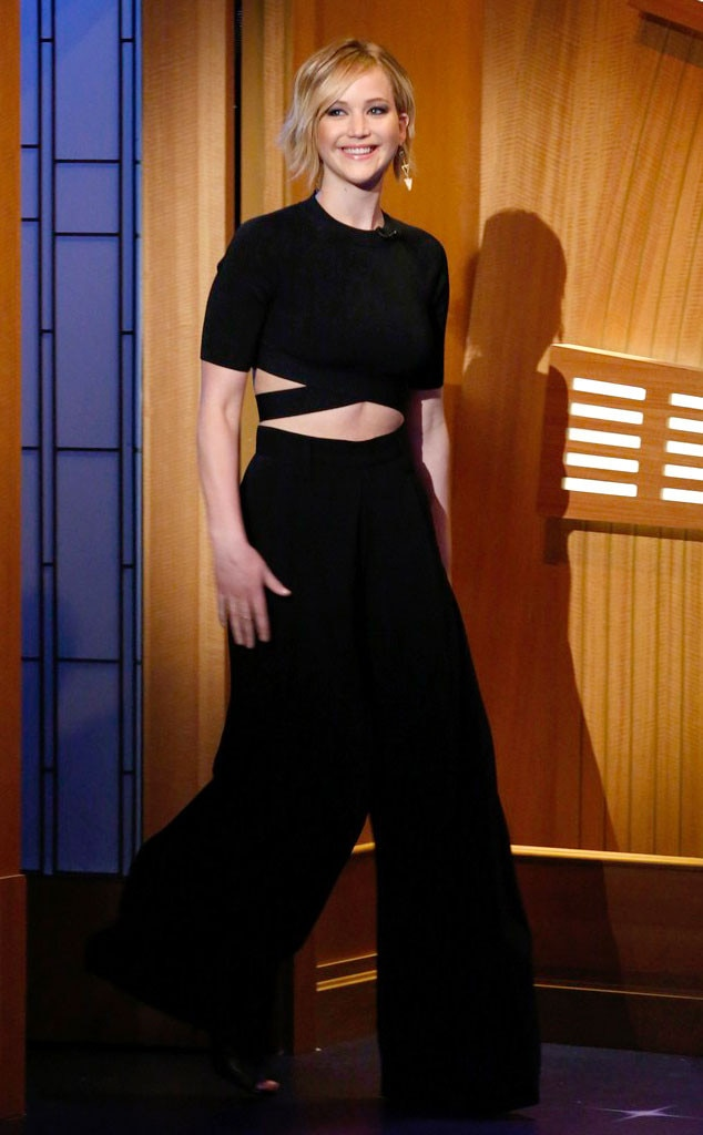 Jennifer Lawrence, Late Night With Seth Meyers